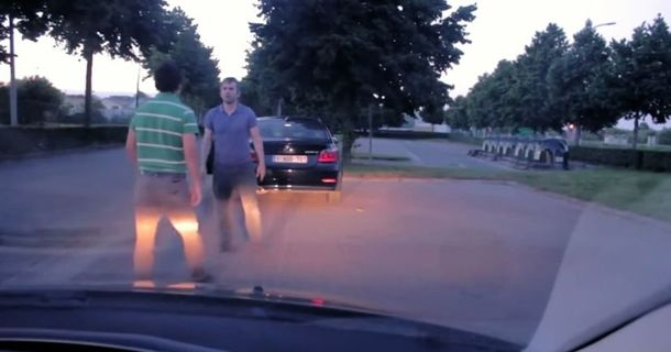 You'll Be Surprised By How This Road Rage Incident Ends